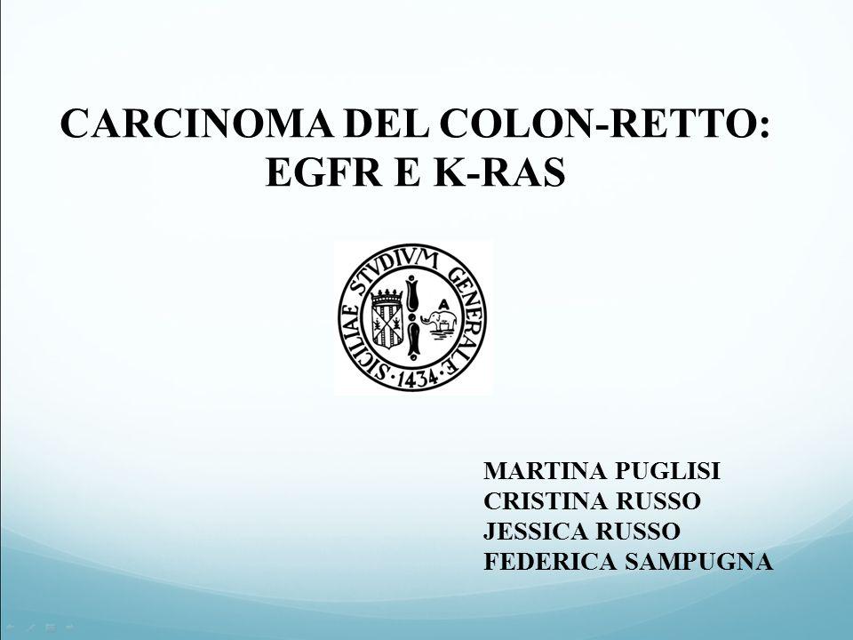 CARCINOMA DEL COLON-RETTO: EGFR E K-RAS