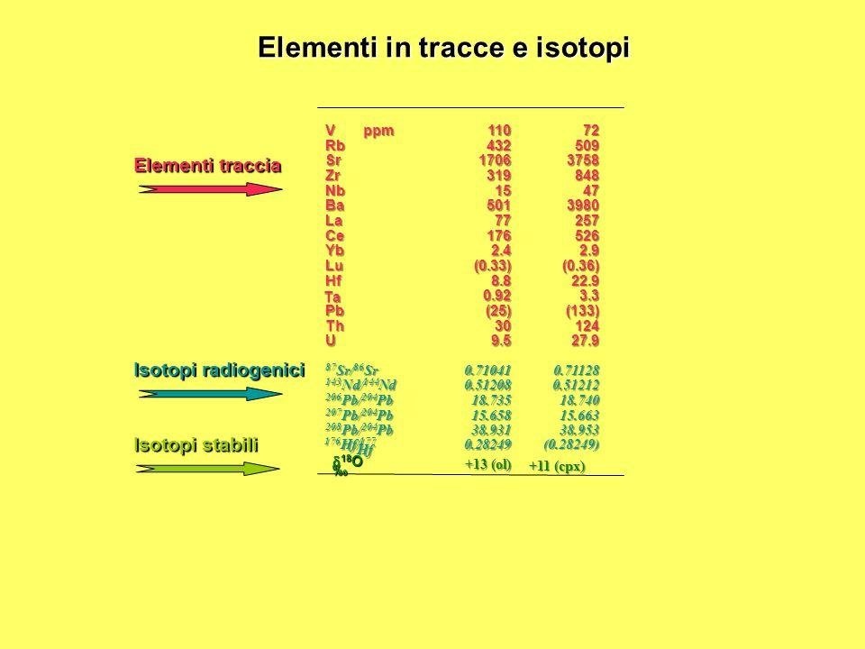 Elementi in tracce e isotopi