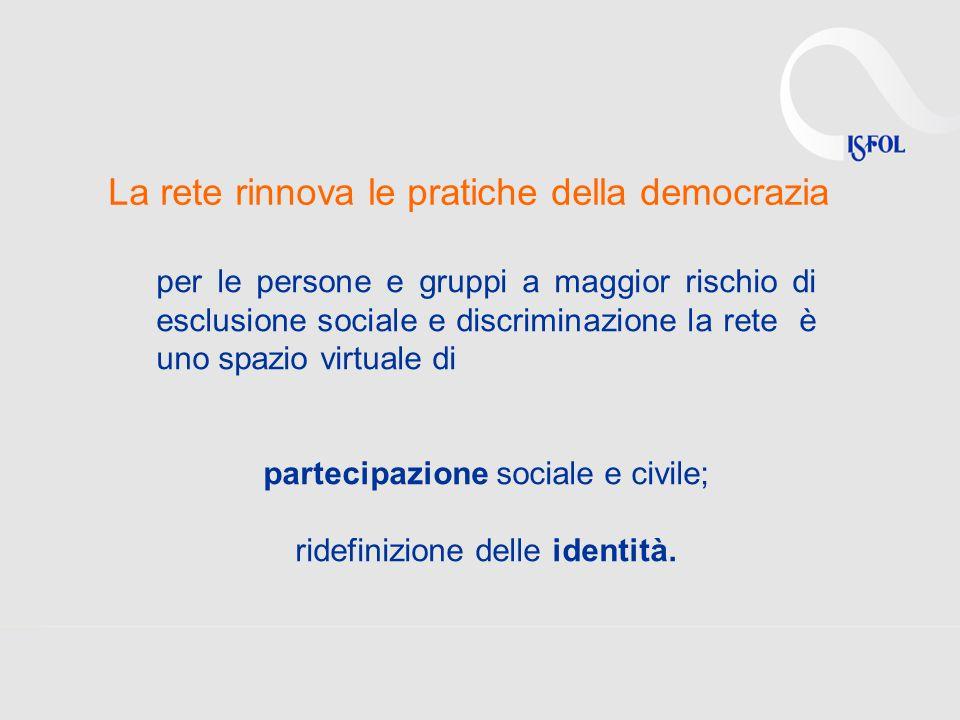 La rete rinnova le pratiche della democrazia