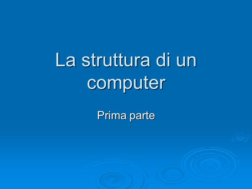 La struttura di un computer