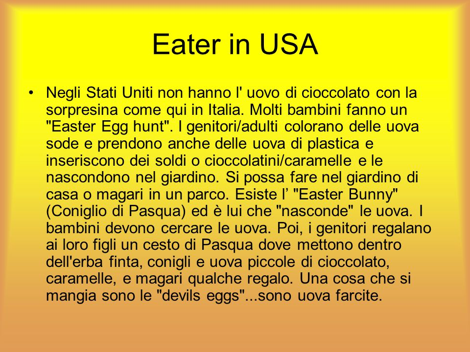 Eater in USA