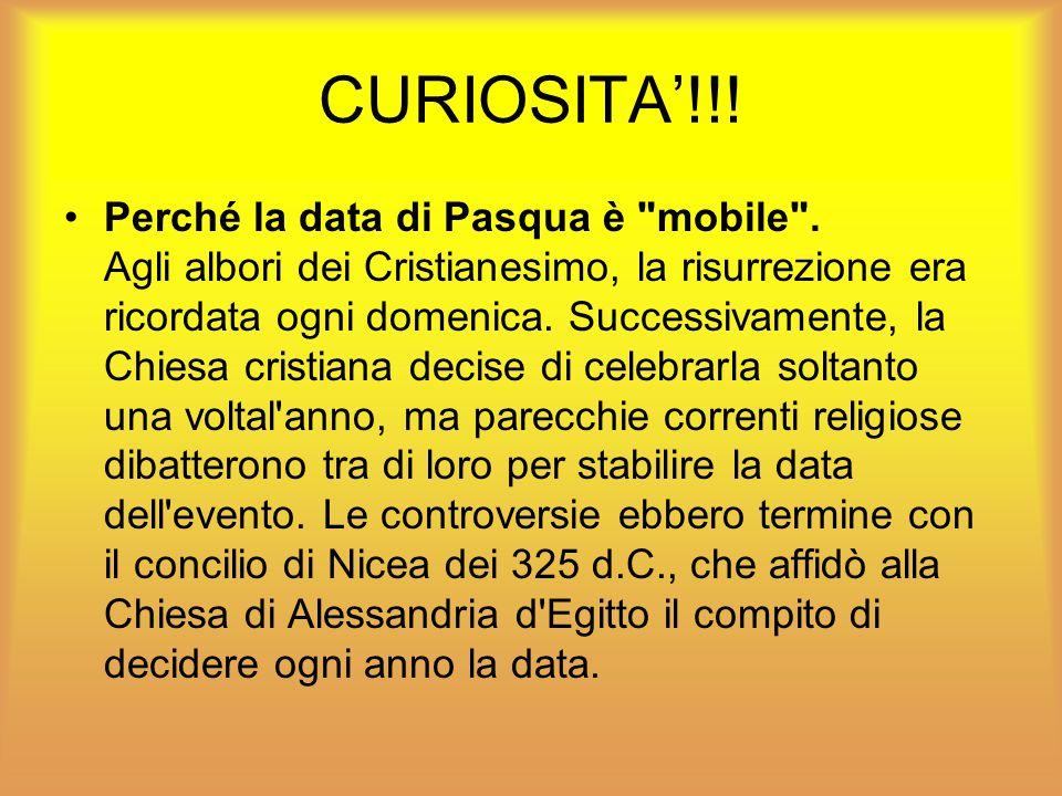CURIOSITA'!!!