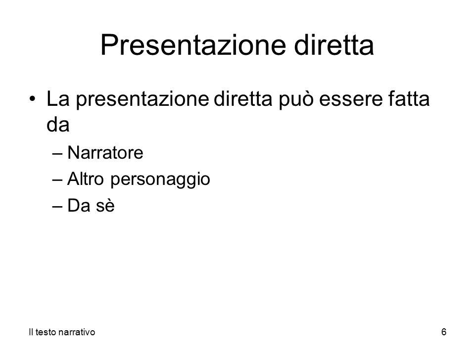 Presentazione diretta