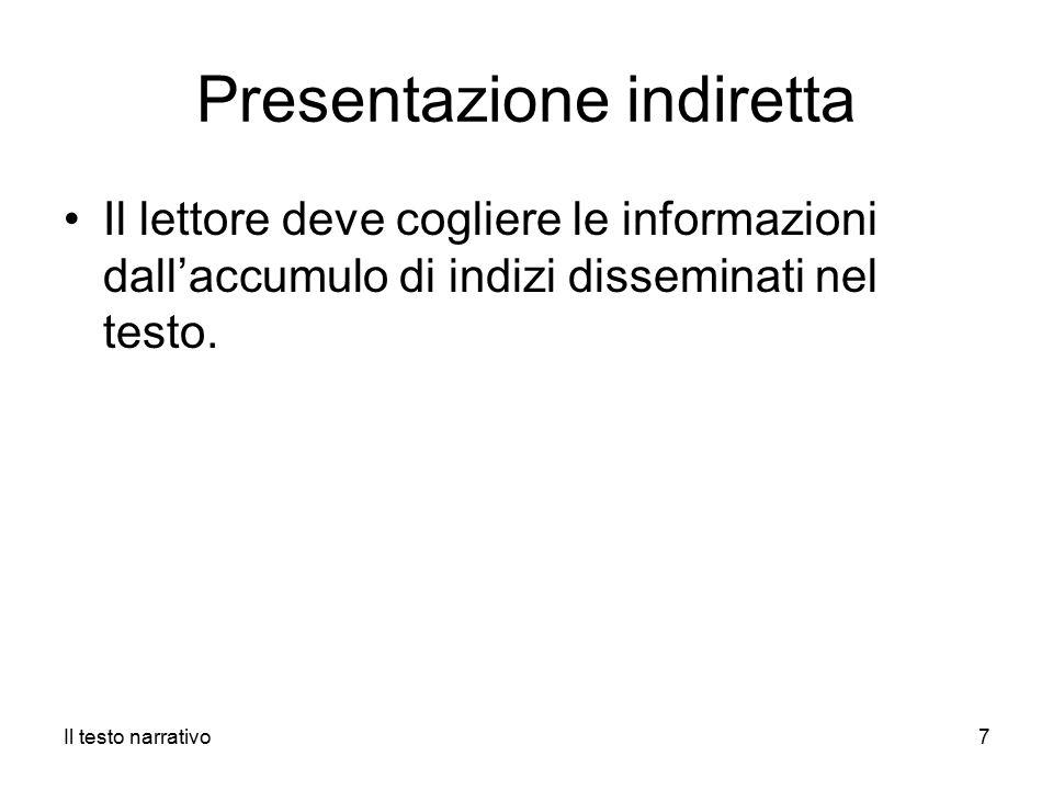 Presentazione indiretta