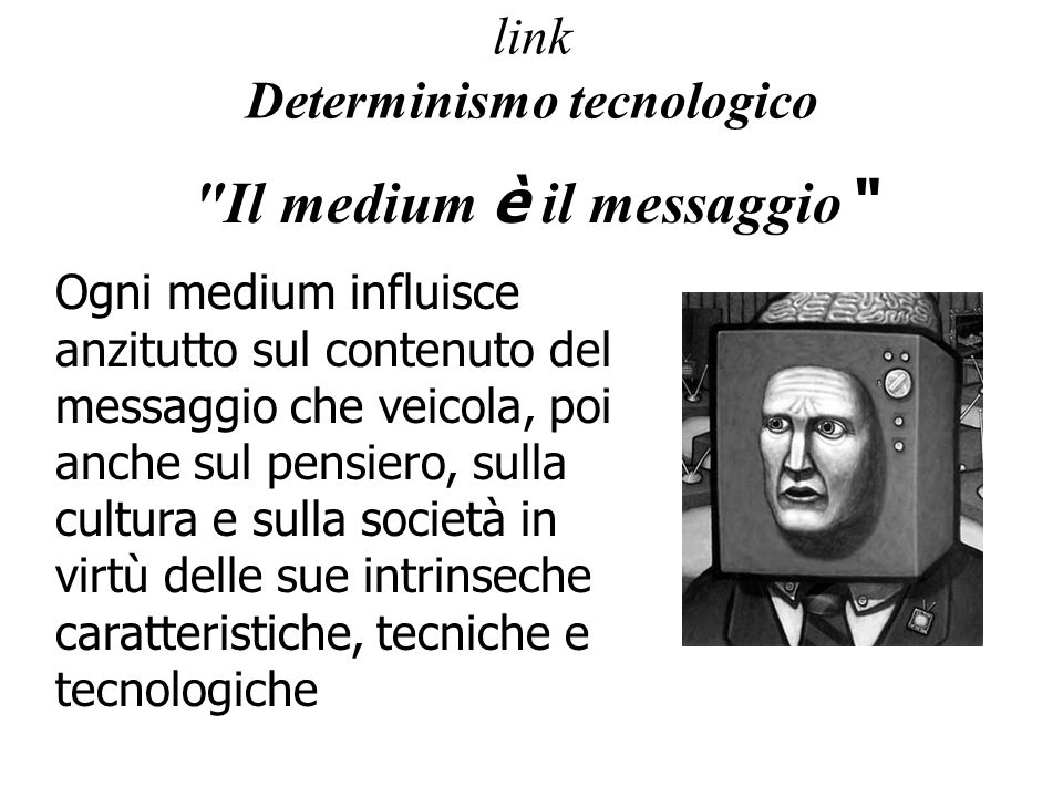 link Determinismo tecnologico