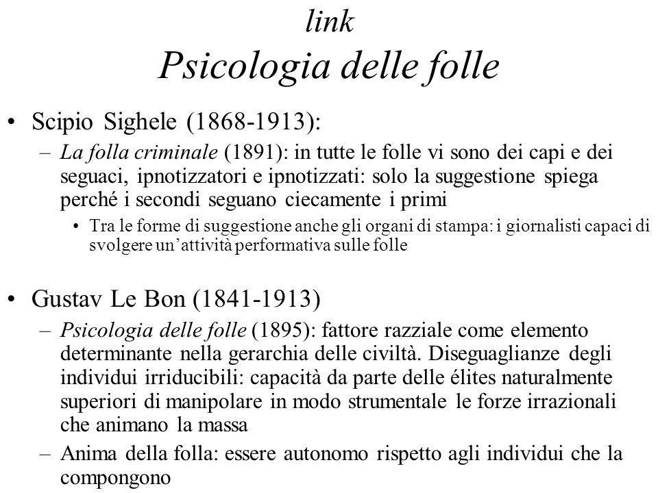 link Psicologia delle folle
