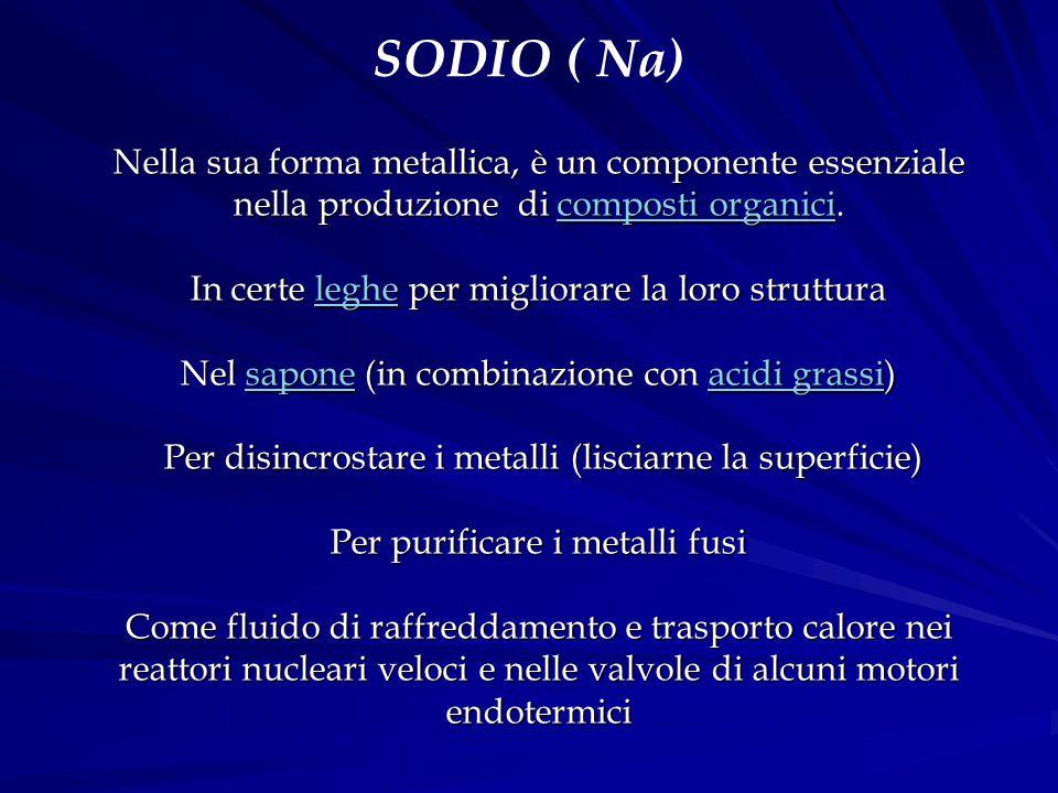 SODIO ( Na)