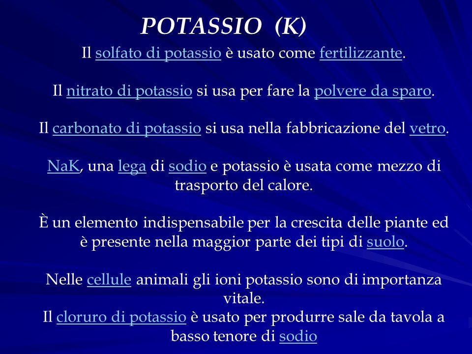 POTASSIO (K)
