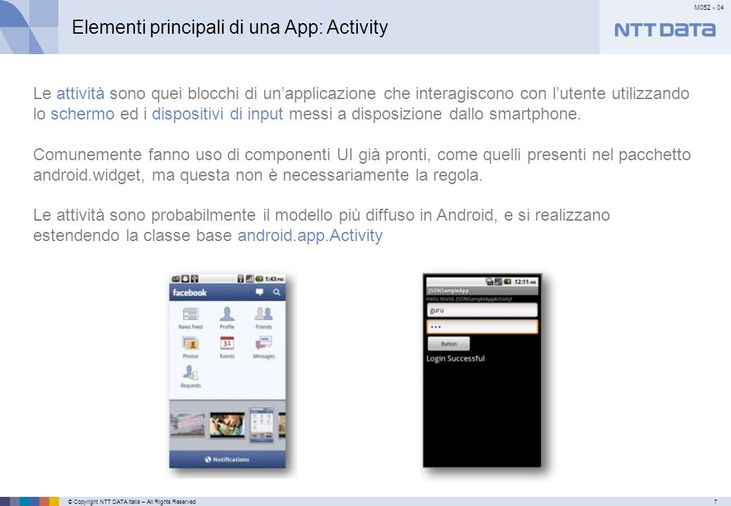 Elementi principali di una App: Service