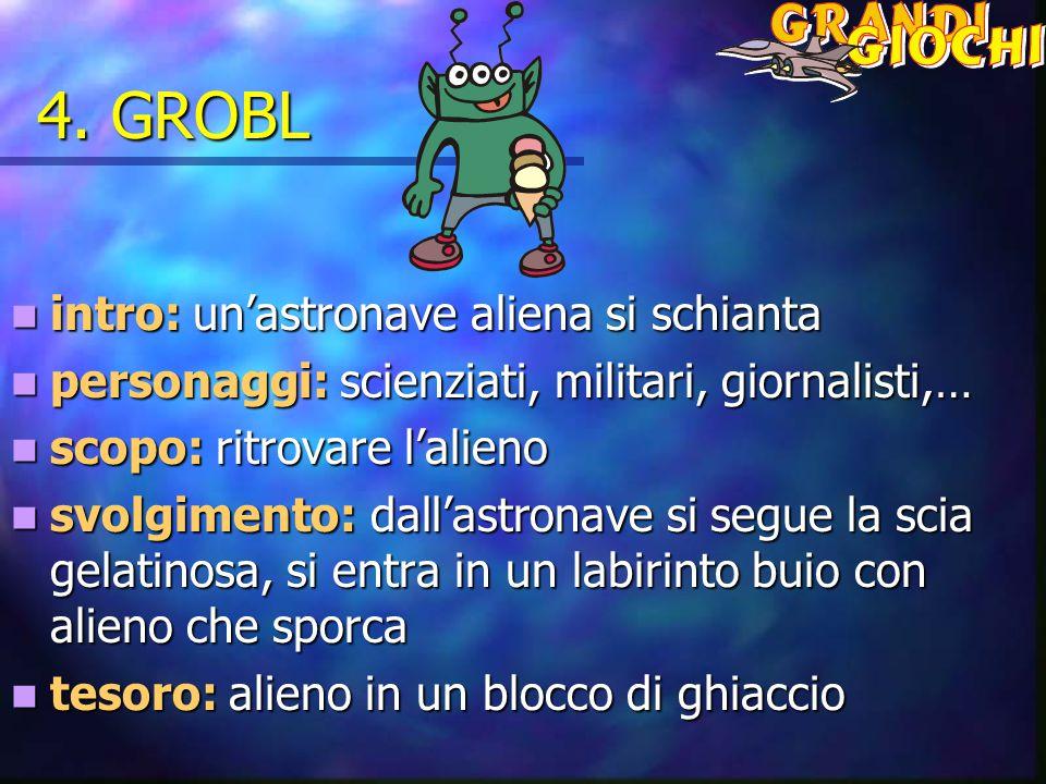 4. GROBL intro: un'astronave aliena si schianta