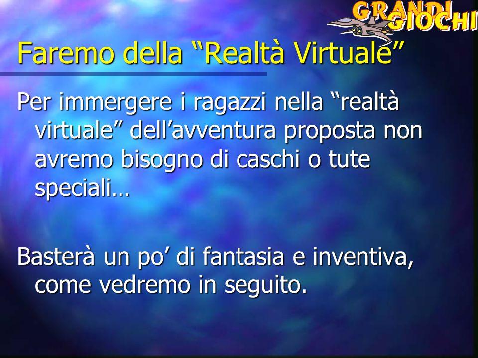 Faremo della Realtà Virtuale