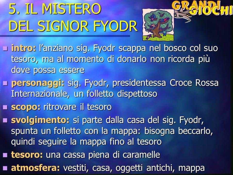 5. IL MISTERO DEL SIGNOR FYODR