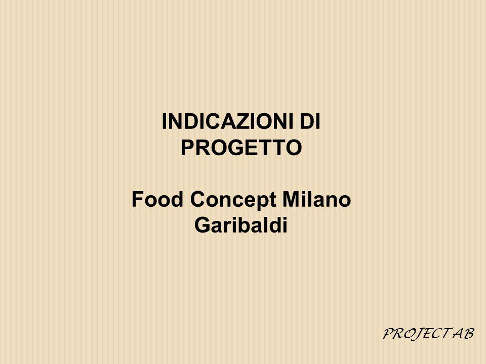 INDICAZIONI DI PROGETTO Food Concept Milano Garibaldi