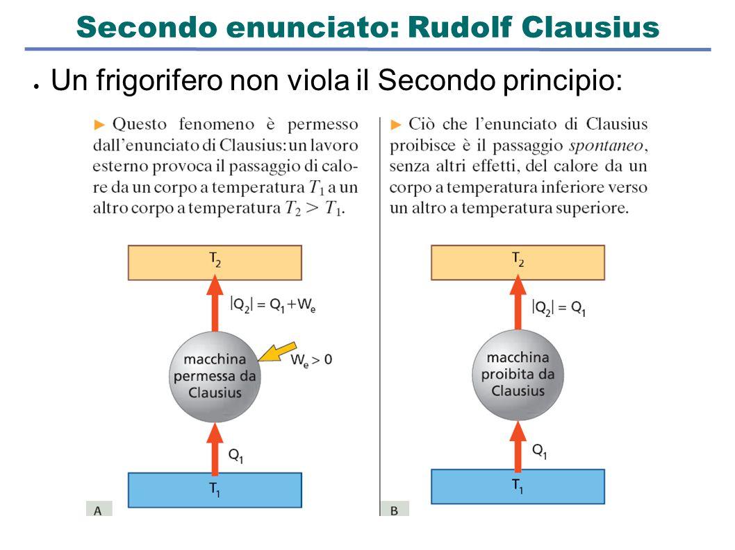 Secondo enunciato: Rudolf Clausius