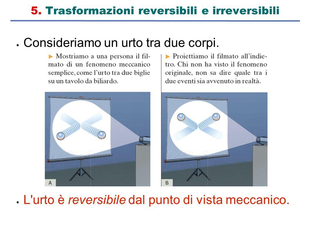 5. Trasformazioni reversibili e irreversibili