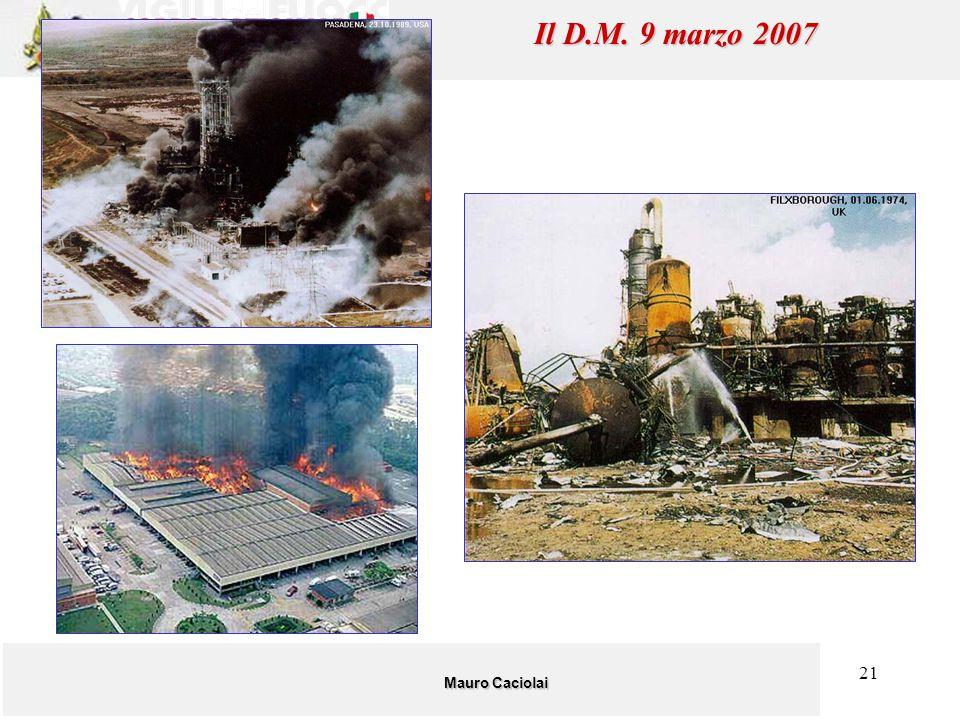 Il D.M. 9 marzo 2007 Mauro Caciolai