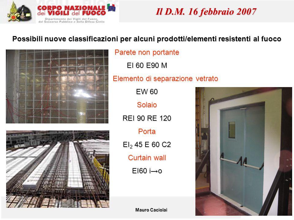 Elemento di separazione vetrato