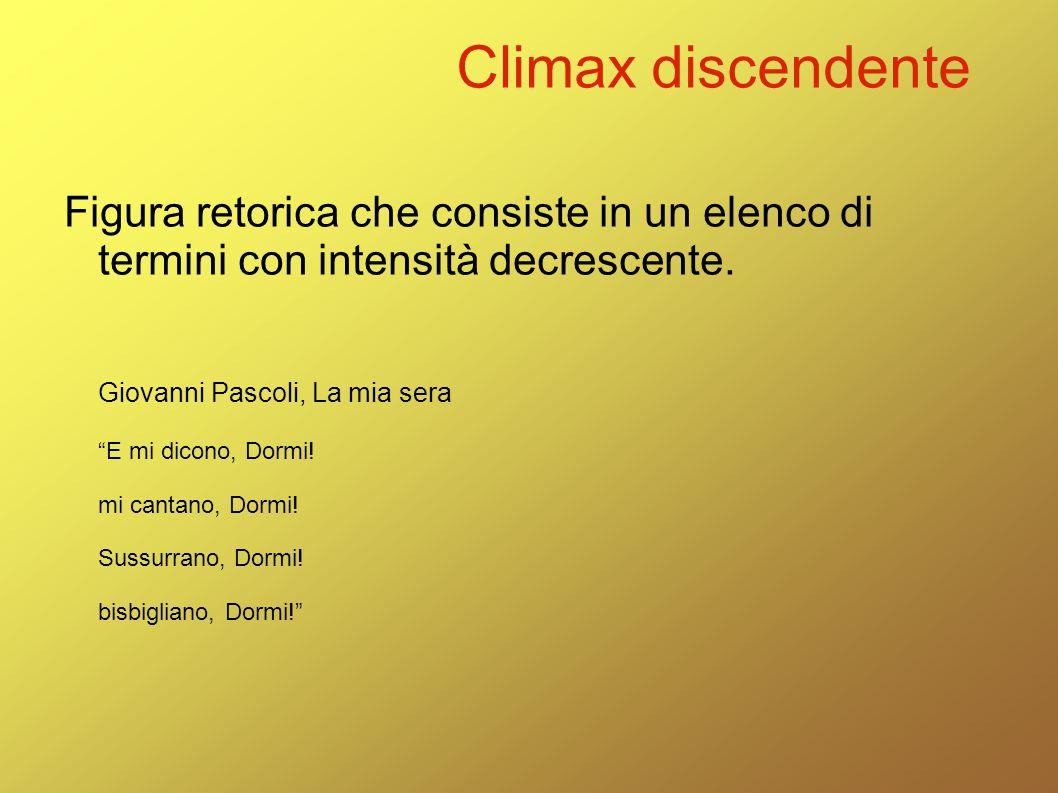 Climax discendente