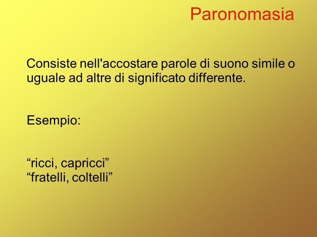 Paronomasia