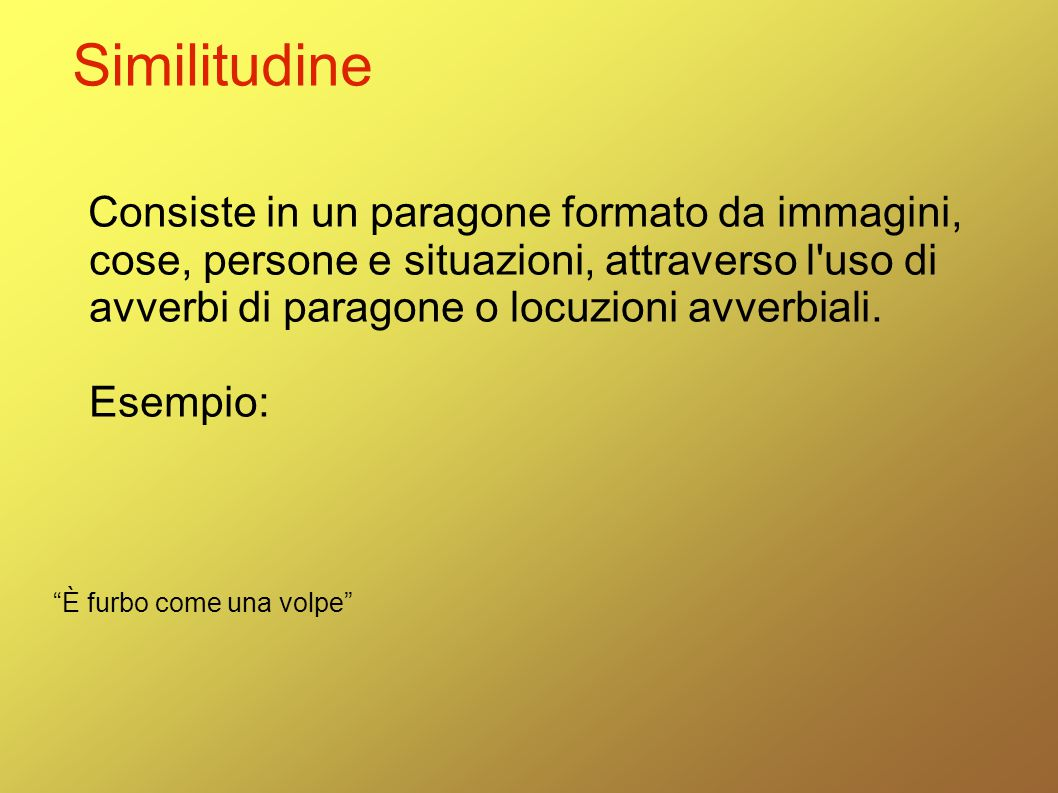 Similitudine