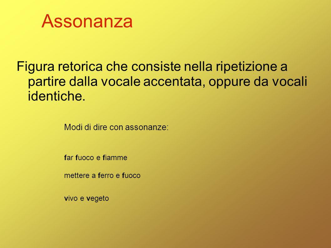 Assonanza