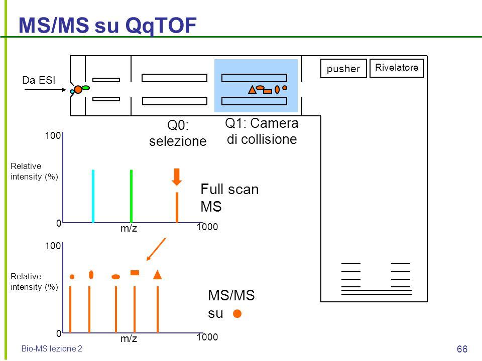 Q1: Camera di collisione