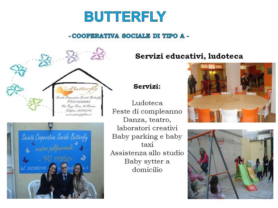 Butterfly - Cooperativa sociale di tipo a -