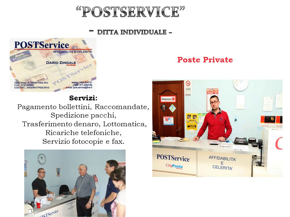 Postservice - Ditta individuale –