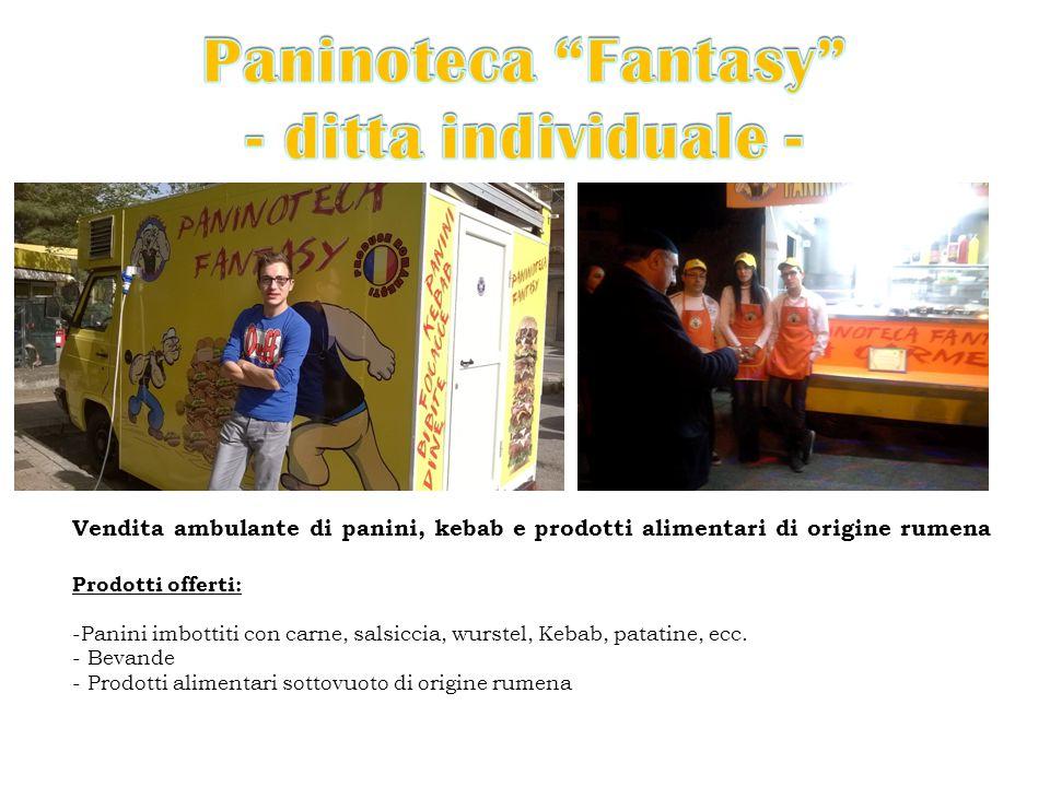 Paninoteca Fantasy - ditta individuale -
