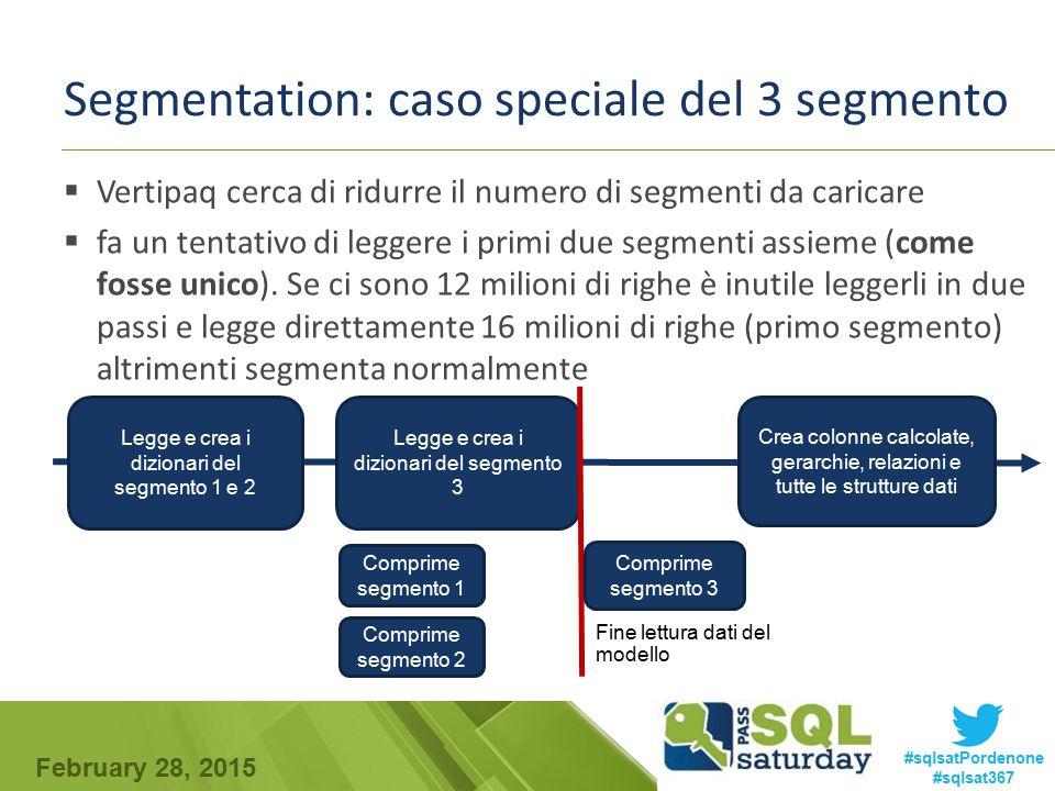 Segmentation: caso speciale del 3 segmento