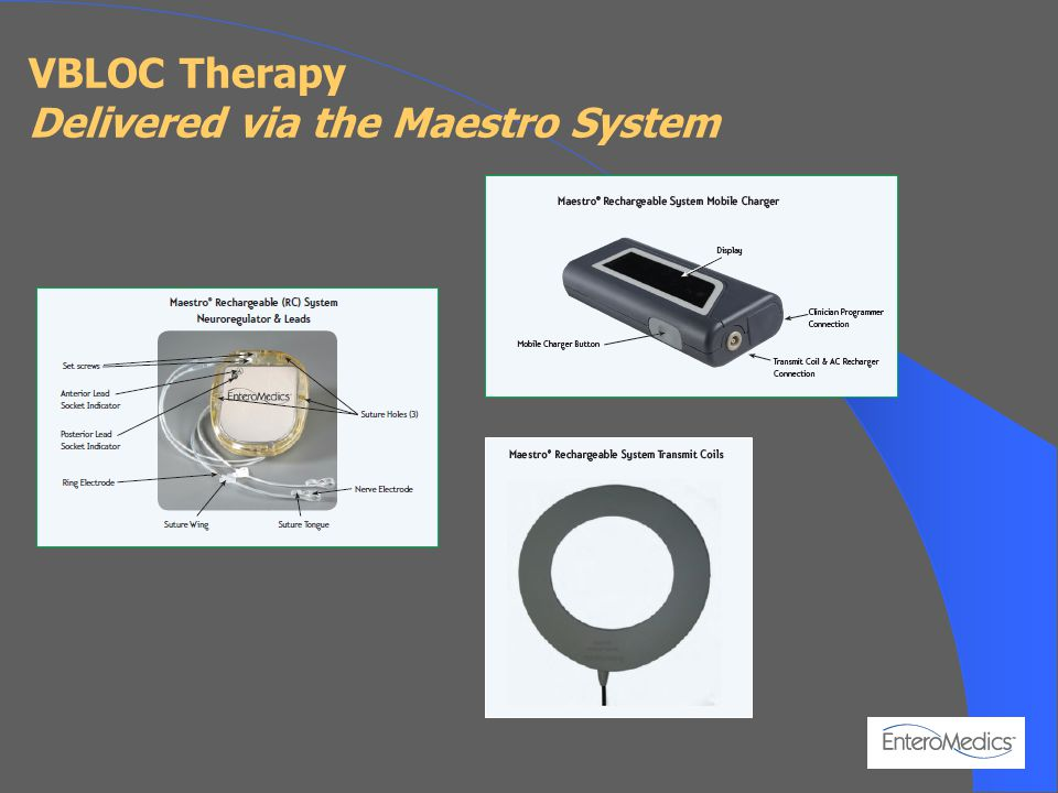 VBLOC Therapy Delivered via the Maestro System