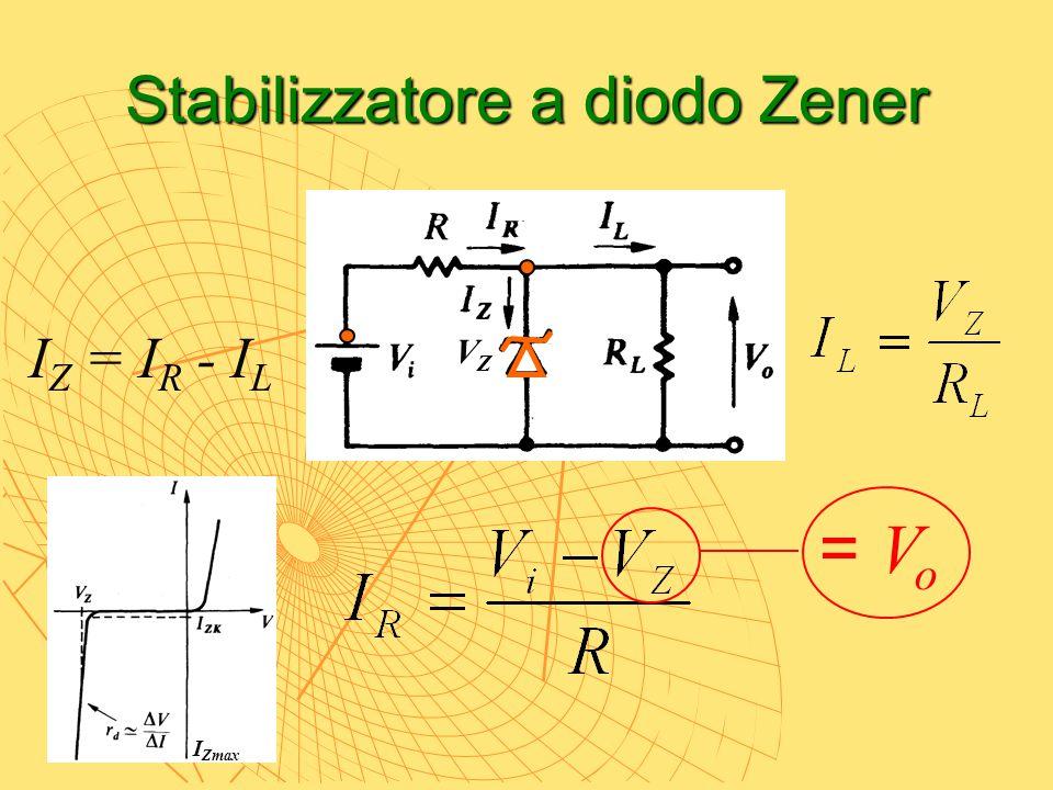 Stabilizzatore a diodo Zener