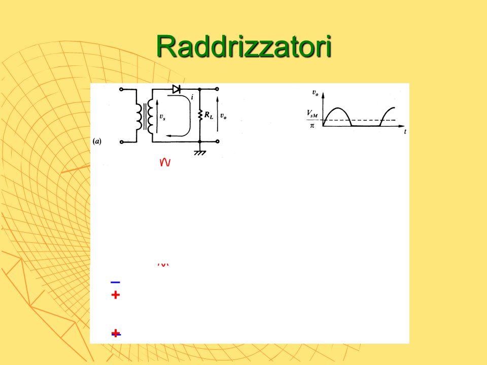 Raddrizzatori _ + _ +
