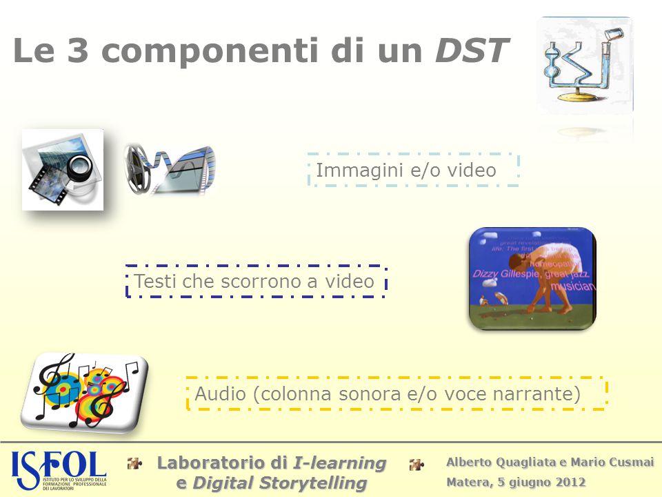 Le 3 componenti di un DST Immagini e/o video