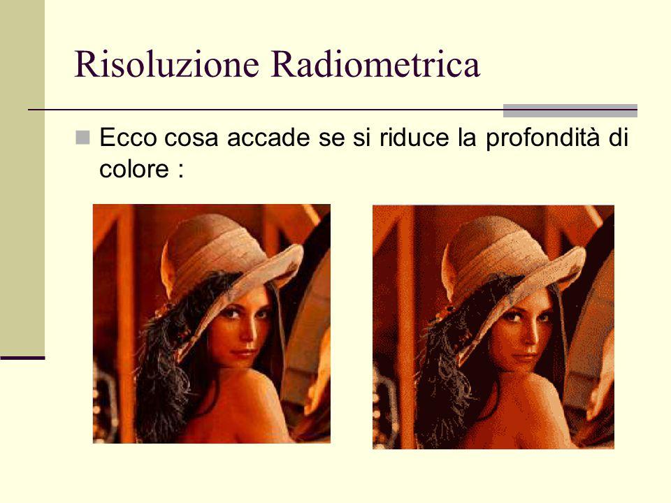 Risoluzione Radiometrica