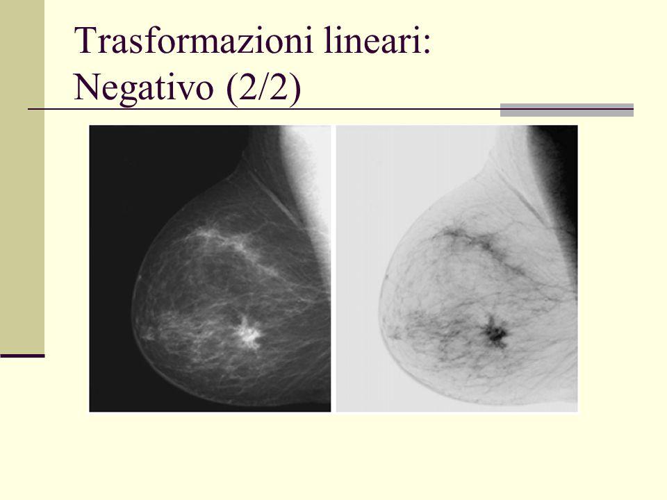 Trasformazioni lineari: Negativo (2/2)