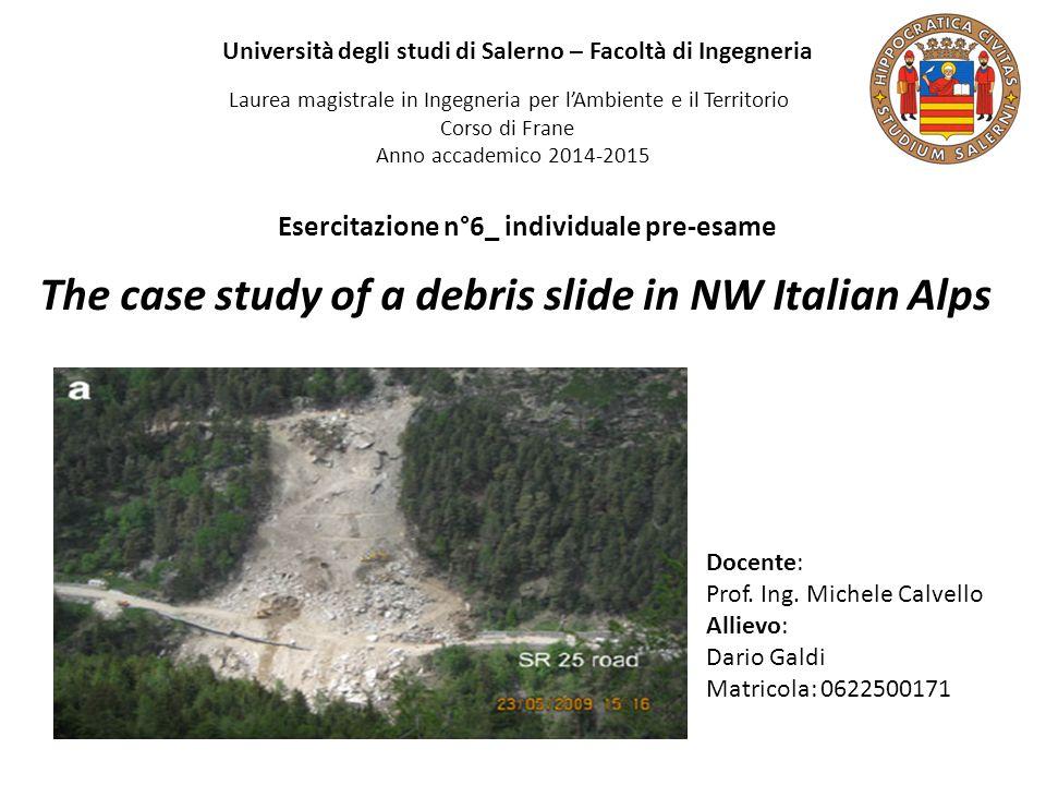 Università degli studi di Salerno – Facoltà di Ingegneria