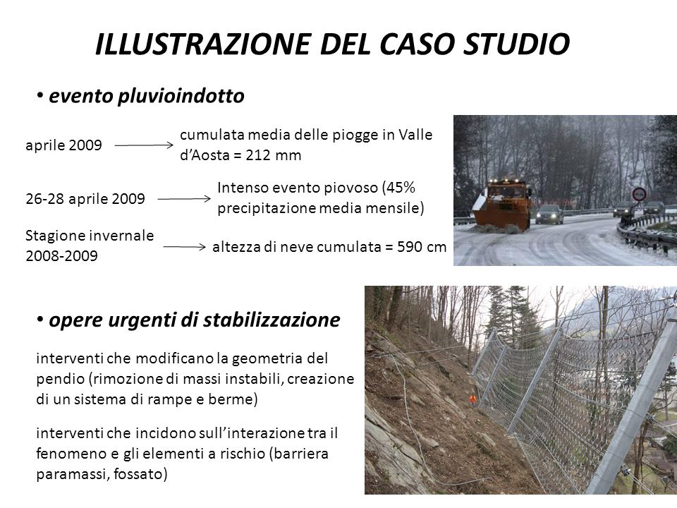 ILLUSTRAZIONE DEL CASO STUDIO