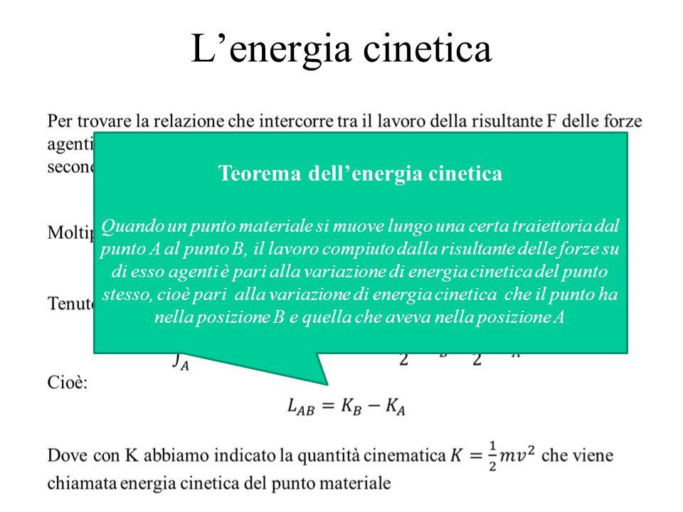 Teorema dell'energia cinetica
