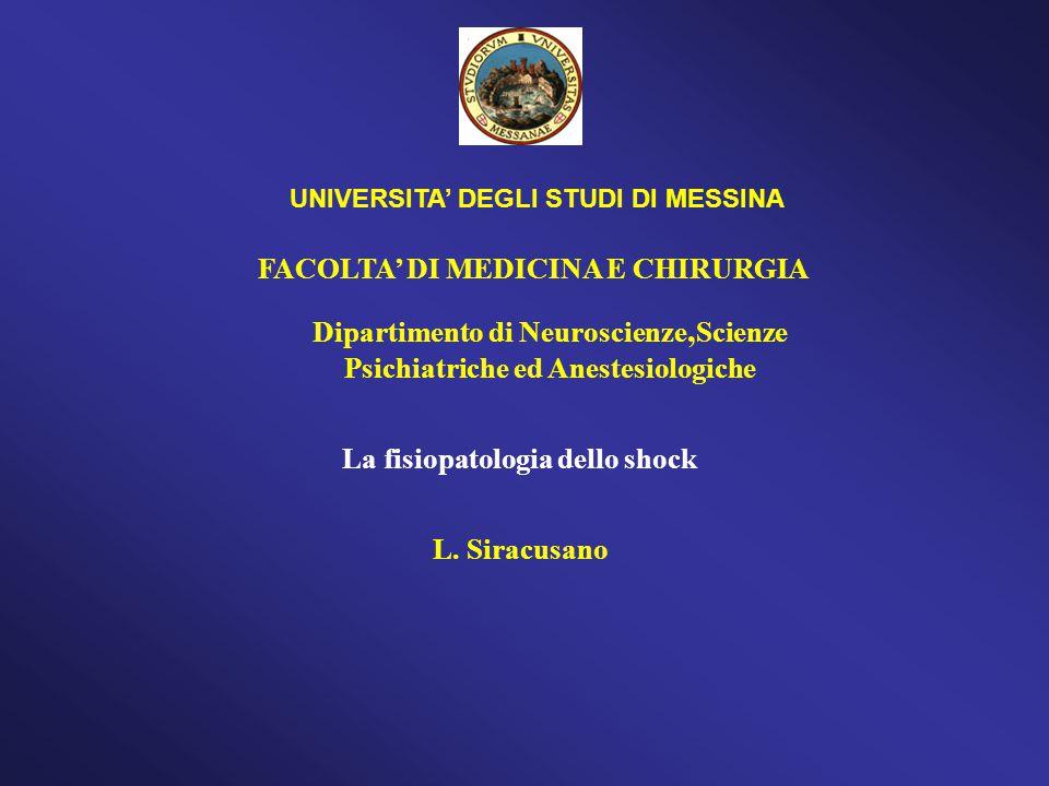 FACOLTA' DI MEDICINA E CHIRURGIA
