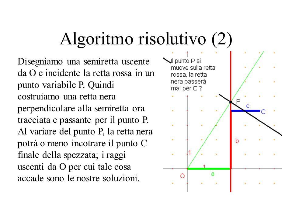 Algoritmo risolutivo (2)