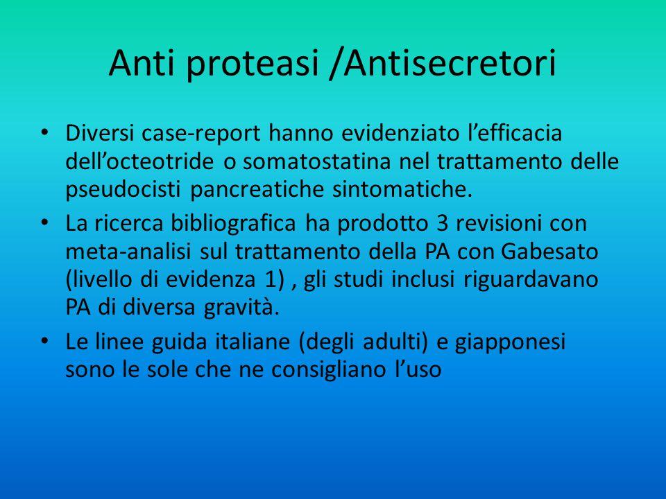 Anti proteasi /Antisecretori