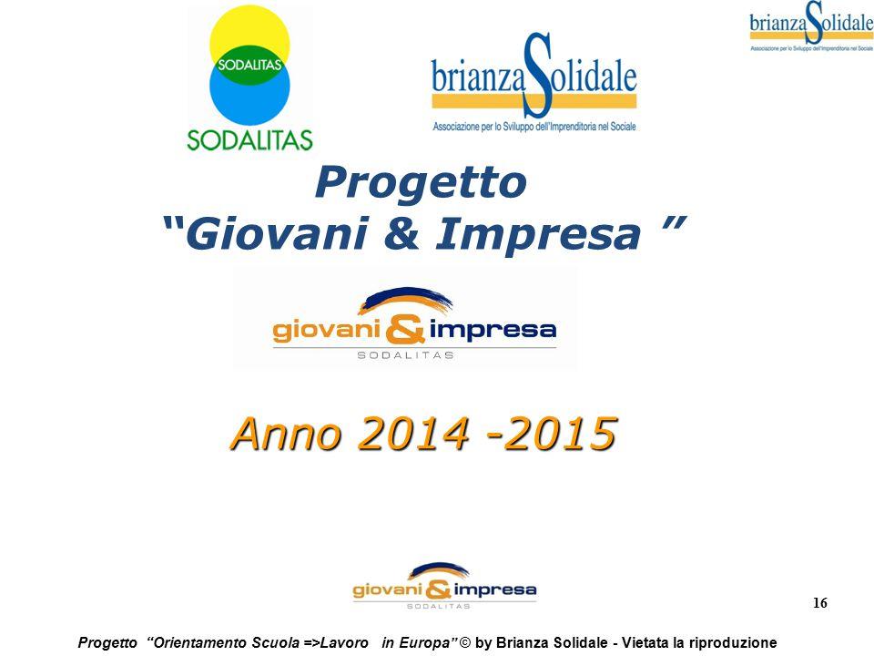 Progetto Giovani & Impresa