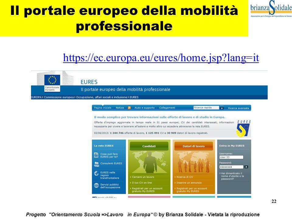 Il portale europeo della mobilità professionale