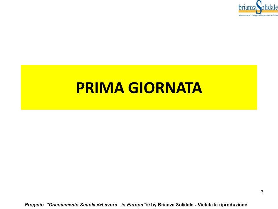 PRIMA GIORNATA