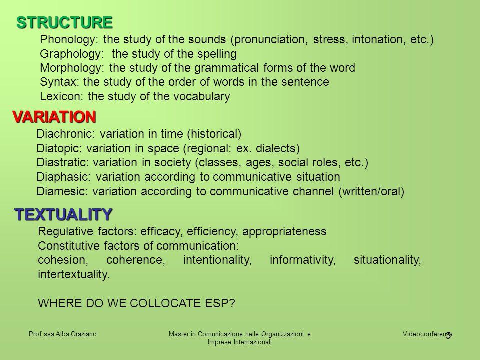 Master in Comunicazione nelle Organizzazioni e Imprese Internazionali