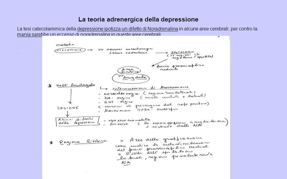 La teoria adrenergica della depressione