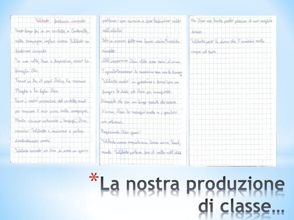 La nostra produzione di classe…