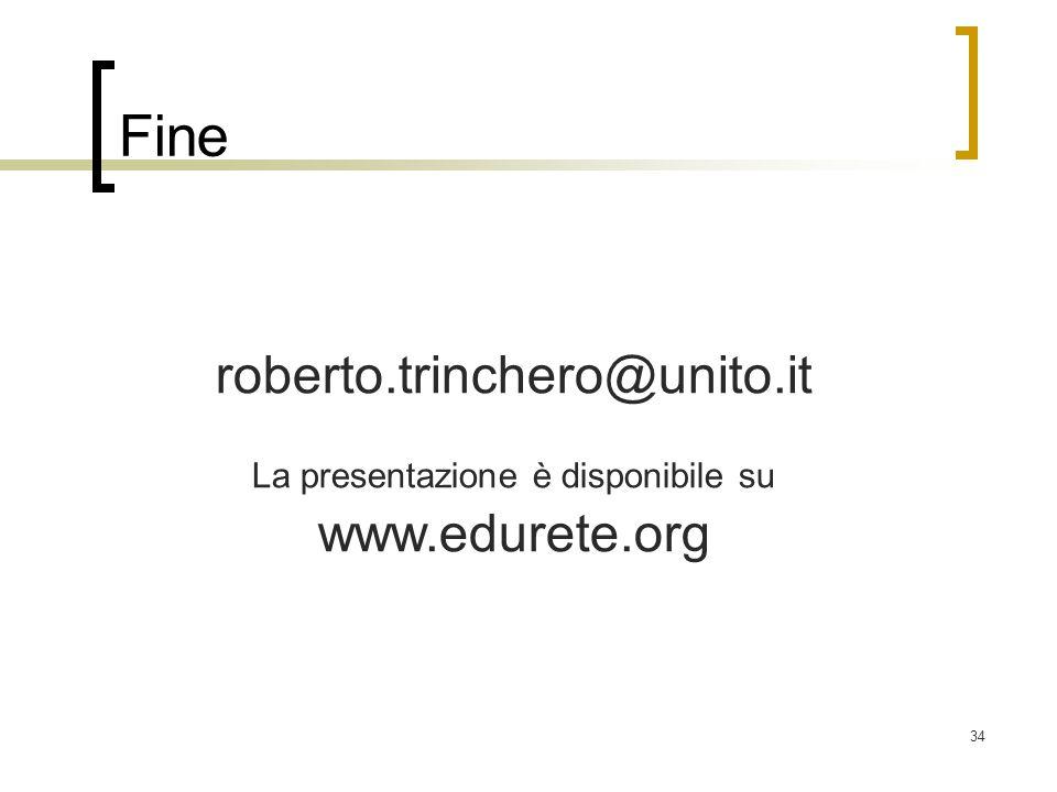 La presentazione è disponibile su www.edurete.org