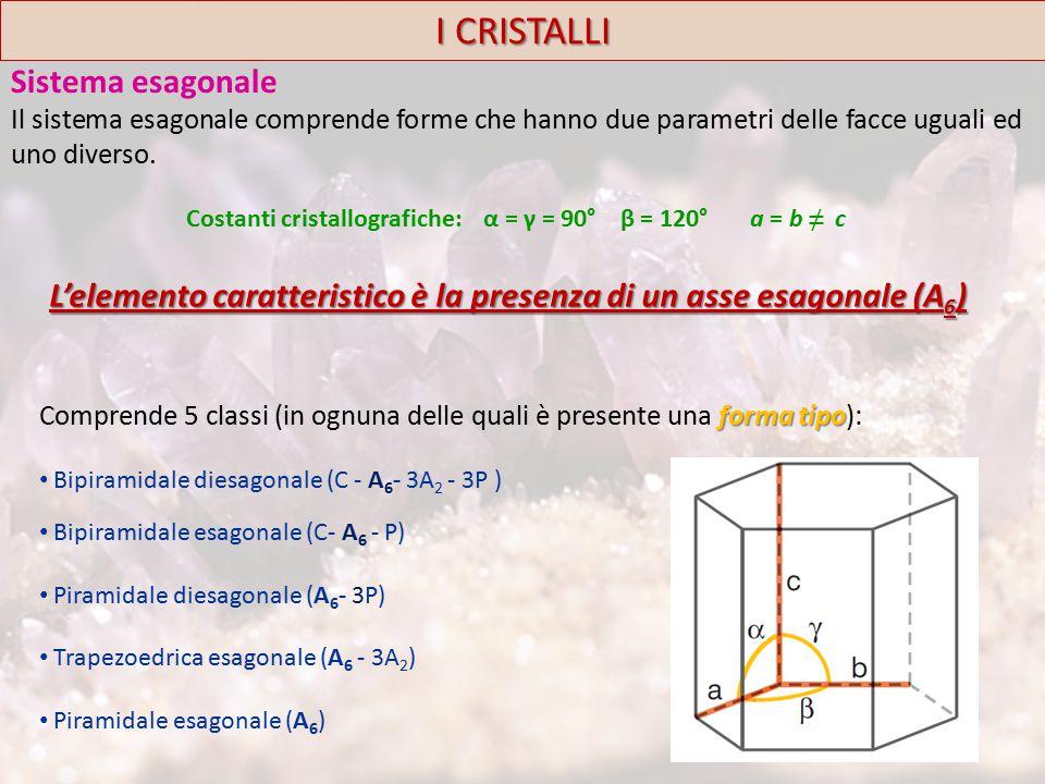 I CRISTALLI Sistema esagonale